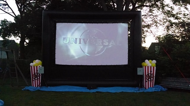 Outdoor Movie Projector Rental Long Island